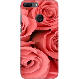 Coberta Case Designer Printed Back Cover For Huawei Honor 9 Lite - Roses Grunge Design