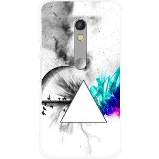 Snooky Printed Math Art Mobile Back Cover For Motorola Moto X Play - Multi