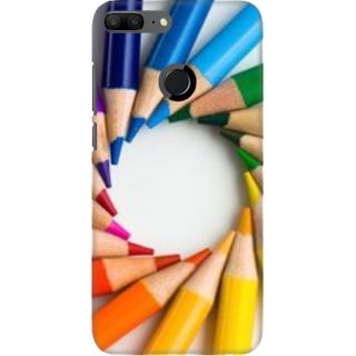 Coberta Case Designer Printed Back Cover For Huawei Honor 9 Lite - designed pattern Design