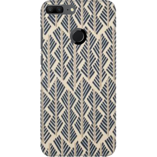 Coberta Case Designer Printed Back Cover For Huawei Honor 9 Lite - designed pattern Design