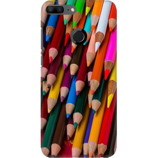 Coberta Case Designer Printed Back Cover For Huawei Honor 9 Lite - Pencils Design