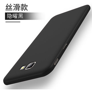 For Samsung Galaxy J7 Max Ultra Thin Rubberized Hard Matte ipaky back Case Cover...black