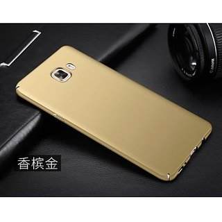 For Samsung Galaxy J7 Max Rubberized Hard Matte ipaky back Case Cover...Gold