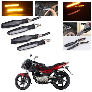 buy autostark motorcycle amber led turn signal indicators light lamp