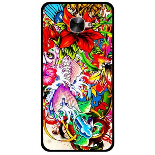 Snooky Printed Horny Flowers Mobile Back Cover For Letv Le 2 - Multicolour