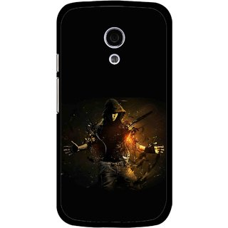 Snooky Printed Dancing Boy Mobile Back Cover For Moto G2 - Multi