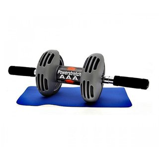 Power Stretch AB Wheel Roller Exercise