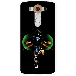Snooky Printed Hero Mobile Back Cover For Lg V10 - Multi