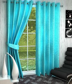 angel homes polyester set of Two curtain for door