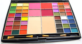 MARS (SHADE-1) 48 COLOUR EYESHADOW BLUSH  COMPACT COMPLETE MAKEUP KIT-MK02