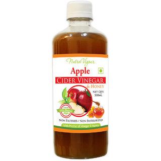 Perennial Lifesciences Apple Cider Vinegar Plus Honey ( Acvh ) Unfiltered, Unpasteurised