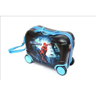 Baby Oodles Black Spiderman Trunkee Suitcase For Kids