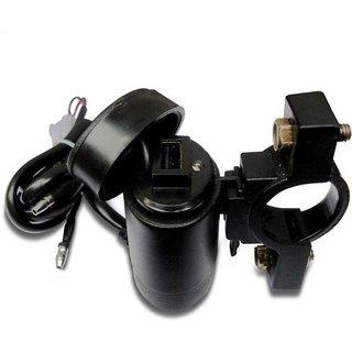 STAR SHINE USB TYPE (DASNA) Bike Mobile charger(Multicolour) For Yamaha LIBERO
