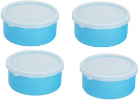 Carrolite Combo Pack of 2 Blue Plastic Container