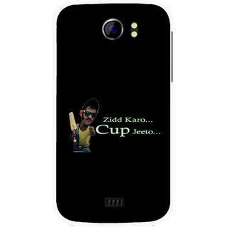 Snooky Printed World cup Jeeto Mobile Back Cover For Micromax Canvas 2 A110 - Multicolour