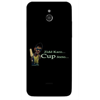 Snooky Printed World cup Jeeto Mobile Back Cover For Infocus M2 - Multicolour