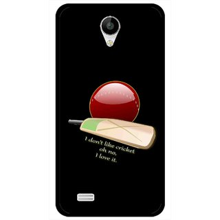 Snooky Printed Cricket Lover Mobile Back Cover For Vivo Y22 - Multicolour
