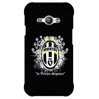 Snooky Printed Signora Mobile Back Cover For Samsung Galaxy Ace J1 - Multicolour