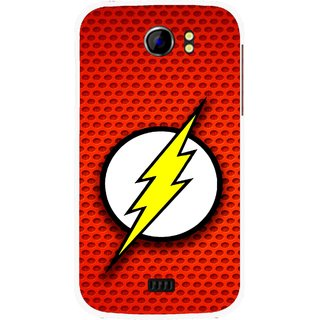 Snooky Printed Dont Touch Mobile Back Cover For Micromax Canvas 2 A110 - Multicolour