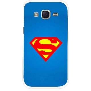 Snooky Printed Super Logo Mobile Back Cover For Samsung Galaxy j2 - Multicolour