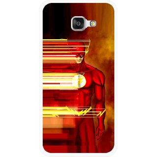 Snooky Printed Electric Man Mobile Back Cover For Samsung Galaxy A3 (2016) - Multicolour