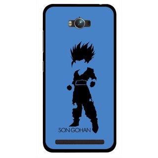 Snooky Printed Son Gohan Mobile Back Cover For Asus Zenfone Max - Multicolour