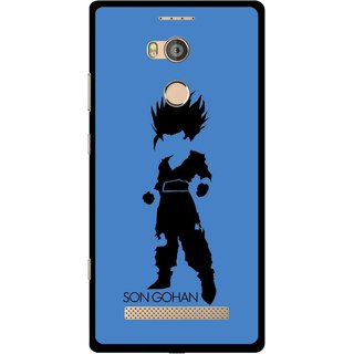 Snooky Printed Son Gohan Mobile Back Cover For Gionee Elife E8 - Multicolour