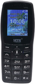 MTR MT 1101 DUAL SIM MOBILE PHONE BLACK