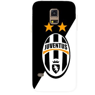 Snooky Printed Football Club Mobile Back Cover For Samsung Galaxy S5 Mini - Multicolour