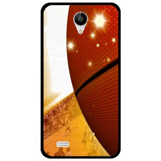 Snooky Printed Basketball Club Mobile Back Cover For Vivo Y22 - Multicolour