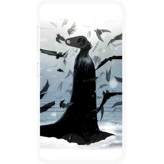 Snooky Printed Black Bats Mobile Back Cover For Nokia Lumia 625 - Multicolour