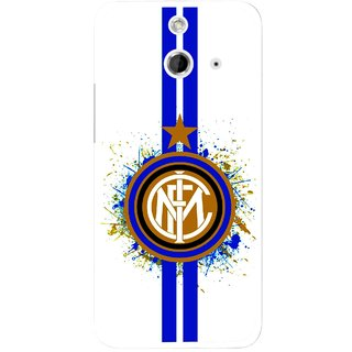 Snooky Printed Sports Lovers Mobile Back Cover For HTC One E8 - Multicolour