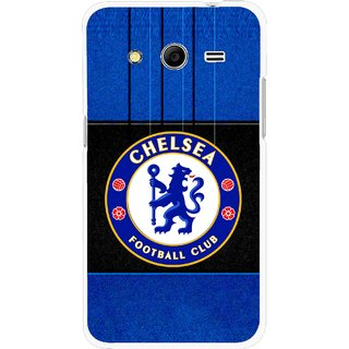 Snooky Printed FootBall Club Mobile Back Cover For Samsung Galaxy G355 - Multicolour