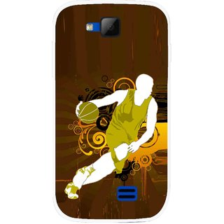 Snooky Printed Chamoins wins Mobile Back Cover For Micromax Canvas Fun A63 - Multicolour