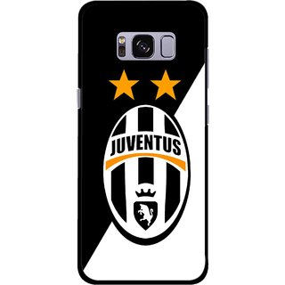 Snooky Printed Football Club Mobile Back Cover For Samsung Galaxy S8 - Multicolour