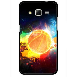 Snooky Printed Paint Globe Mobile Back Cover For Samsung Galaxy Core Prime - Multicolour