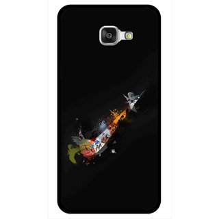 Snooky Printed All is Right Mobile Back Cover For Samsung Galaxy A7 2016 - Multicolour