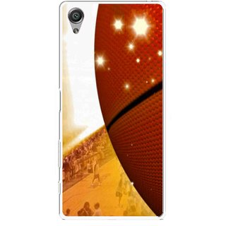 Snooky Printed Basketball Club Mobile Back Cover For Sony Xperia X - Multicolour