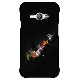 Snooky Printed All is Right Mobile Back Cover For Samsung Galaxy Ace J1 - Multicolour