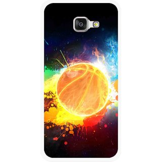 Snooky Printed Paint Globe Mobile Back Cover For Samsung Galaxy A3 (2016) - Multicolour