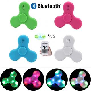 Wireless Bluetooth Speakers Fidget Hand Spinner. ( Assorted Color )