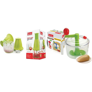 Quick Cheaf Veg. Cutter ABS  WITH  Aata Maker with Chop  Churn (2 in 1)
