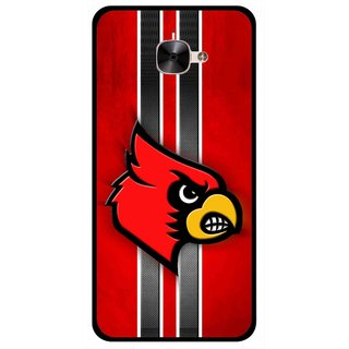Snooky Printed Red Eagle Mobile Back Cover For Letv Le 2 - Multicolour