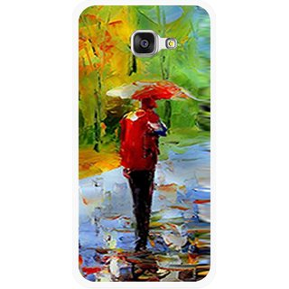 Snooky Printed Painting Mobile Back Cover For Samsung Galaxy A5 2016 - Multicolour