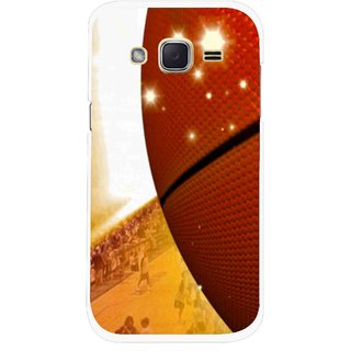 Snooky Printed Basketball Club Mobile Back Cover For Samsung Galaxy j2 - Multicolour