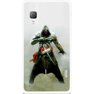 Snooky Printed The Thor Mobile Back Cover For Lg Optimus L5II E455 - Multicolour