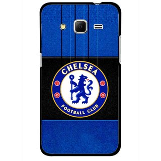 Snooky Printed FootBall Club Mobile Back Cover For Samsung Galaxy Core Prime - Multicolour