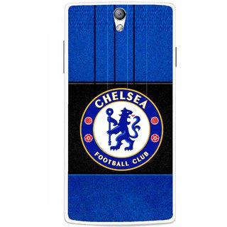 Snooky Printed FootBall Club Mobile Back Cover For Oppo Find 5 Mini - Multicolour