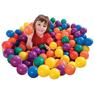 Colorful Set of 50 Fun balls