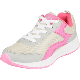 Sparx Womens Grey Pink Sports Running Walking Gym Shoes